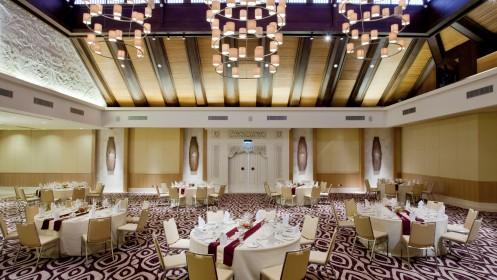 Cinnamon Ballroom-Dinner Setup