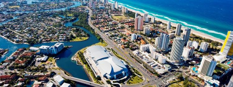 GCCEC against Gold Coast backdrop
