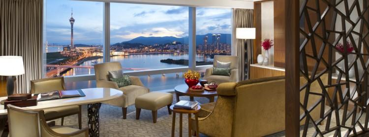 Photo-Mandarin Oriental, Macau-Deluxe Suite-Living Room